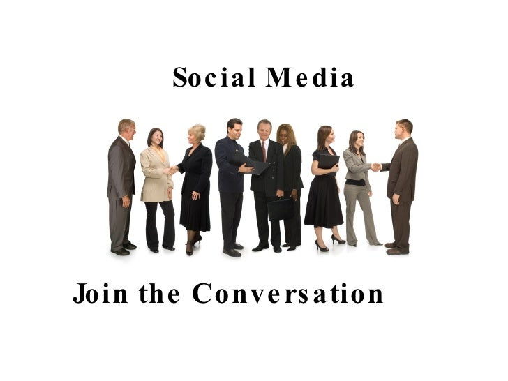 Social Media Join the Conversation