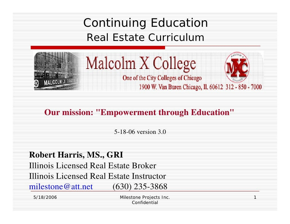 City Colleges of Chicago curriculum proposal