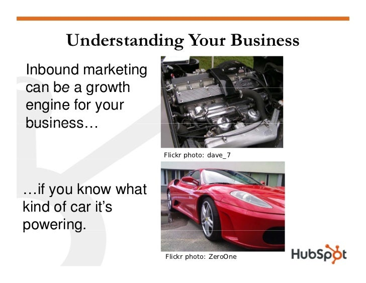 Understanding Your Business Inbound marketing can be a growth engine for your business… business                      Flic...