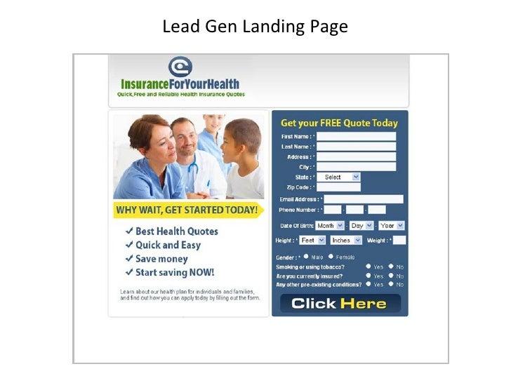 Lead Gen Landing Page