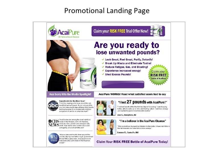 Promotional Landing Page