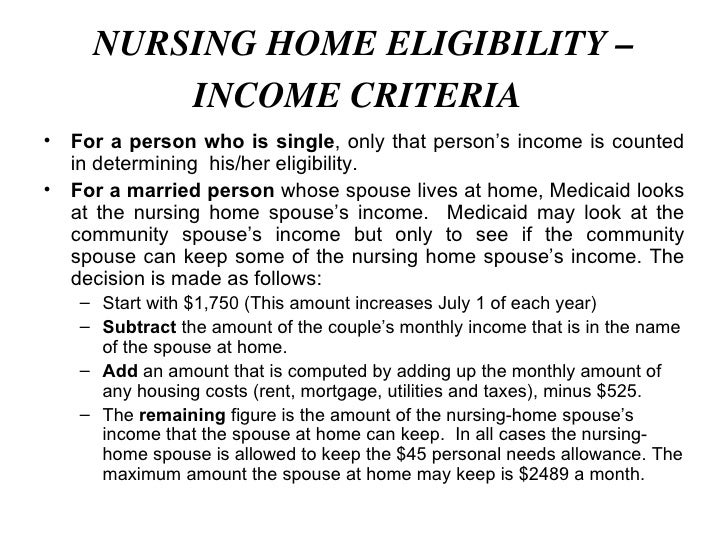 Medicare and medicaid nursing home benefits nursing home eligibility ccuart Gallery