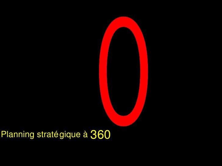 O 360 Planning stratégique à