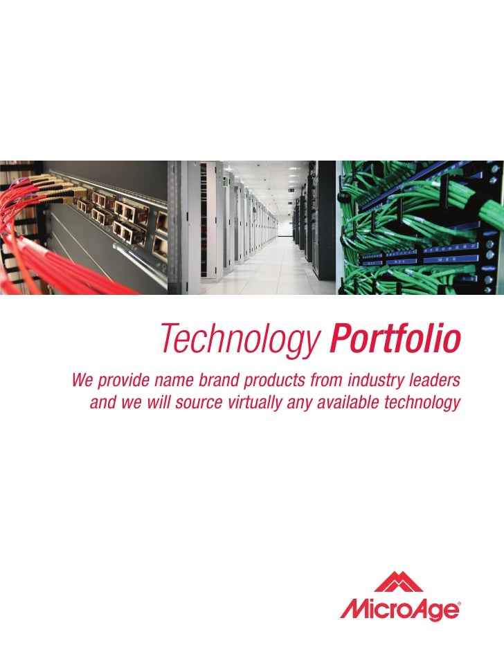 Technology Portfolio We provide name brand products from industry leaders   and we will source virtually any available tec...