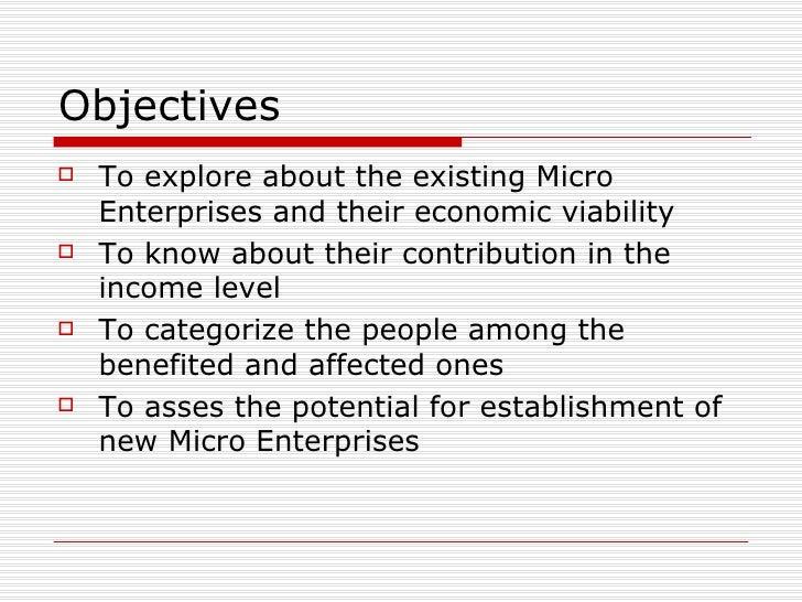 Micro Enterprises As A Catalyst In Village Development