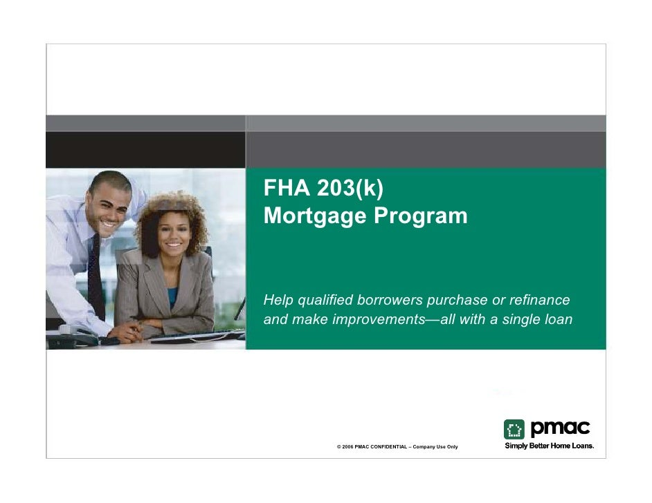 fha 203 k  presentation brokers  lo u0026 39 s microsoft power point