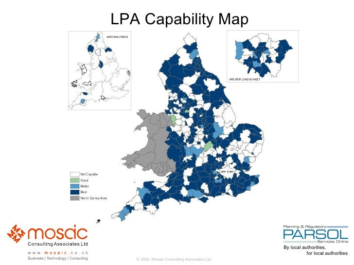 LPA Capability Map