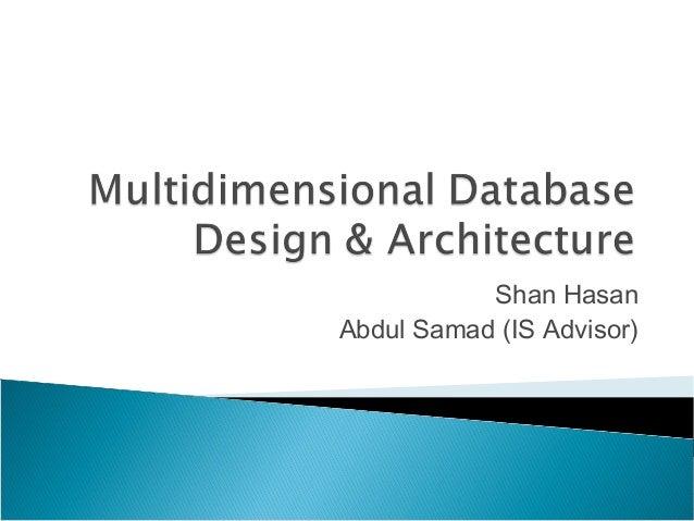 Shan Hasan Abdul Samad (IS Advisor)