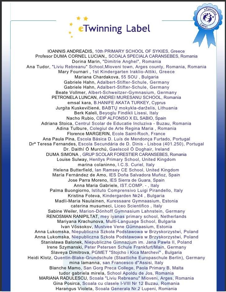 IOANNIS ANDREADIS, 10th PRIMARY SCHOOL OF SYKIES, Greece     Profesor DUMA CORNEL LUCIAN,, SCOALA SPECIALA CARANSEBES, Rom...