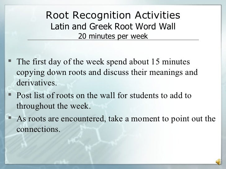 Root Words | Exercise | Education.com