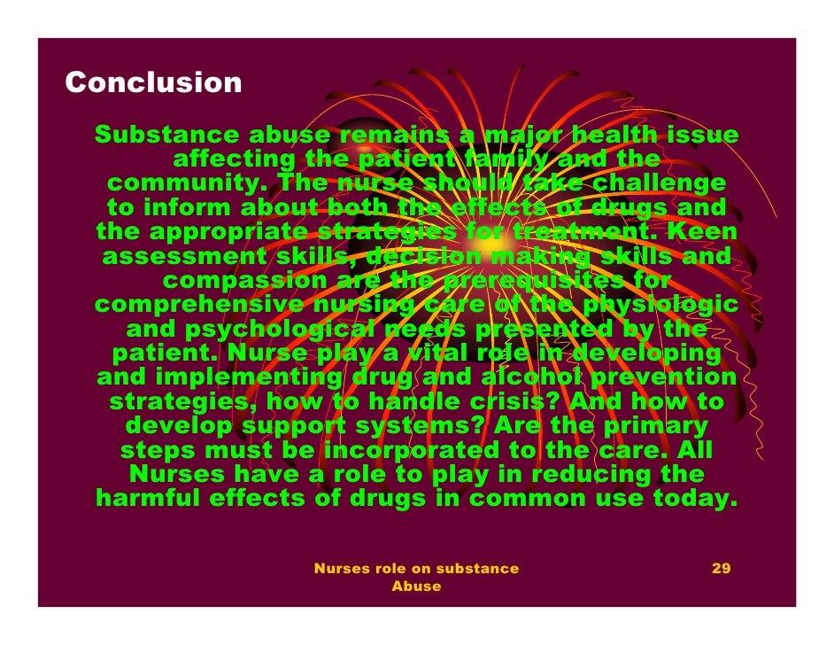 Drug essay conclusion