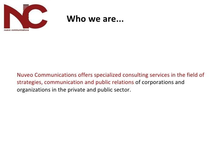 Nuevo Communications Presentation Eng Slide 3