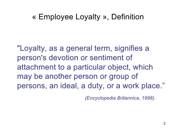 WHY CUSTOMER LOYALTY IS IMPORTANT