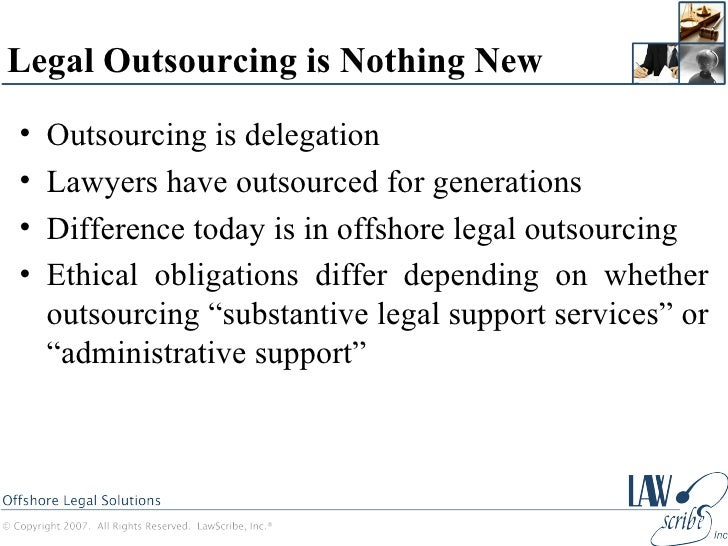 Offshoring as an Ethical Issue