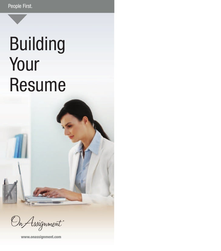 building your resume wwwonassignmentcom