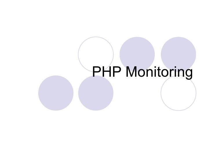 PHP Monitoring