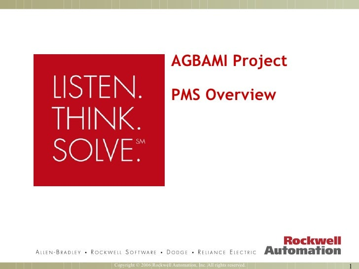 AGBAMI Project PMS Overview