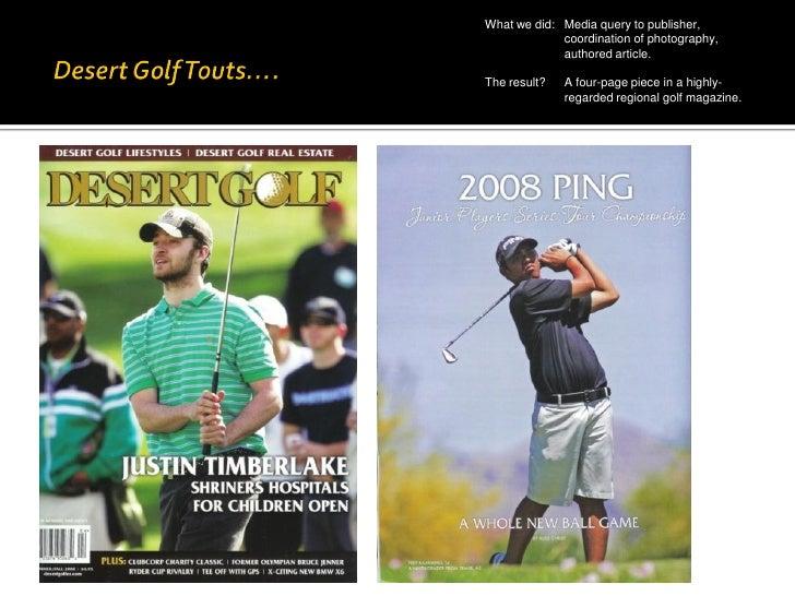 Southwest Section PGA: A Case Study