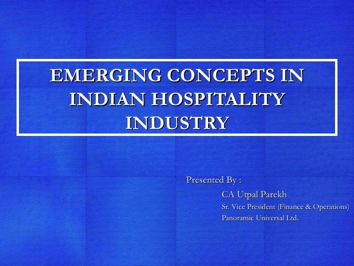 Emerging technology hospitality industry