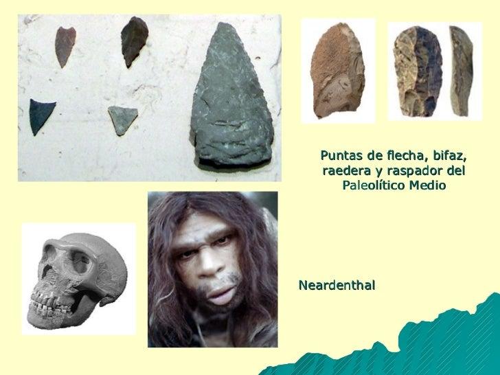 Puntas de flecha, bifaz, raedera y raspador del Paleolítico Medio Neardenthal