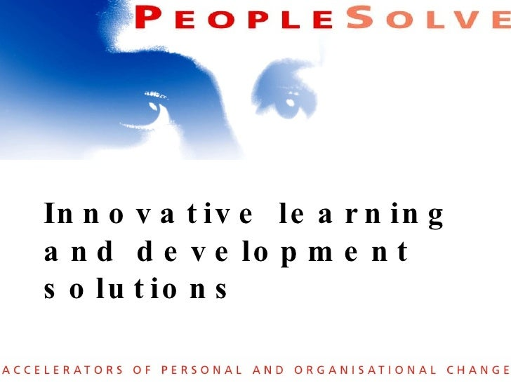 Innovative learning and development solutions