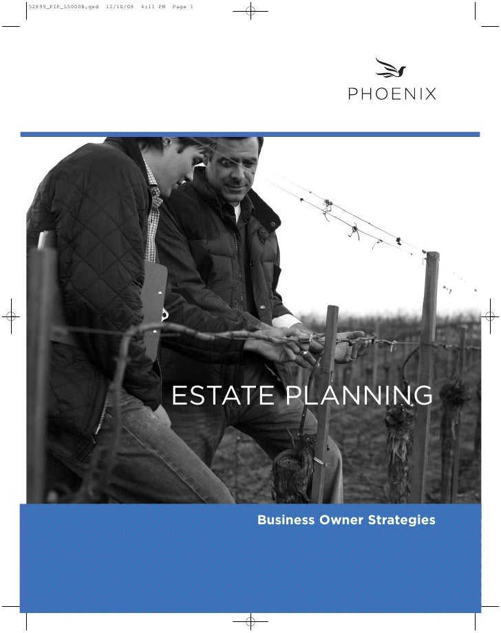 ESTATE PLANNING        Business Owner Strategies