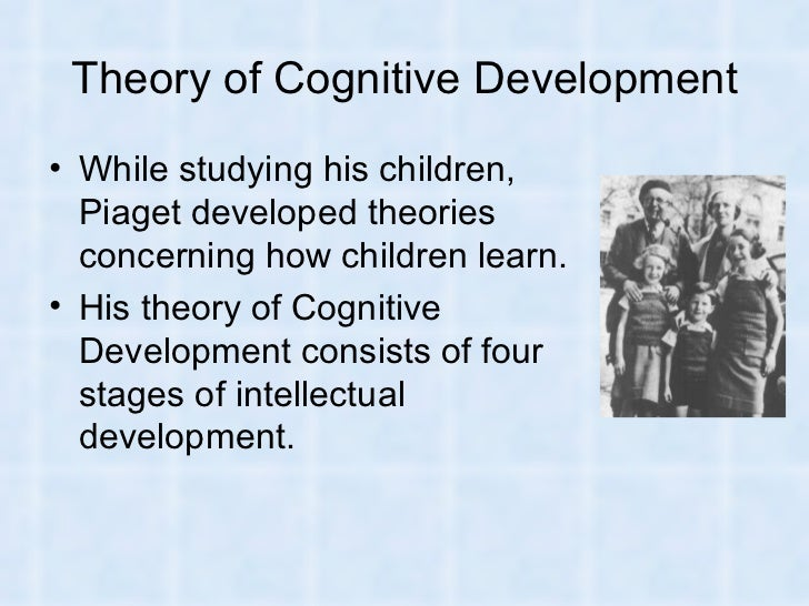 the theory of the stages of cognitive development by jean piaget The piaget theory of cognitive development- what is the normal age to start talking is your toddler lying to you.