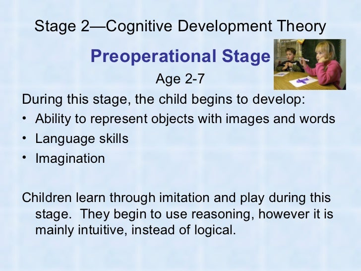 A report on the topic of cognitive development