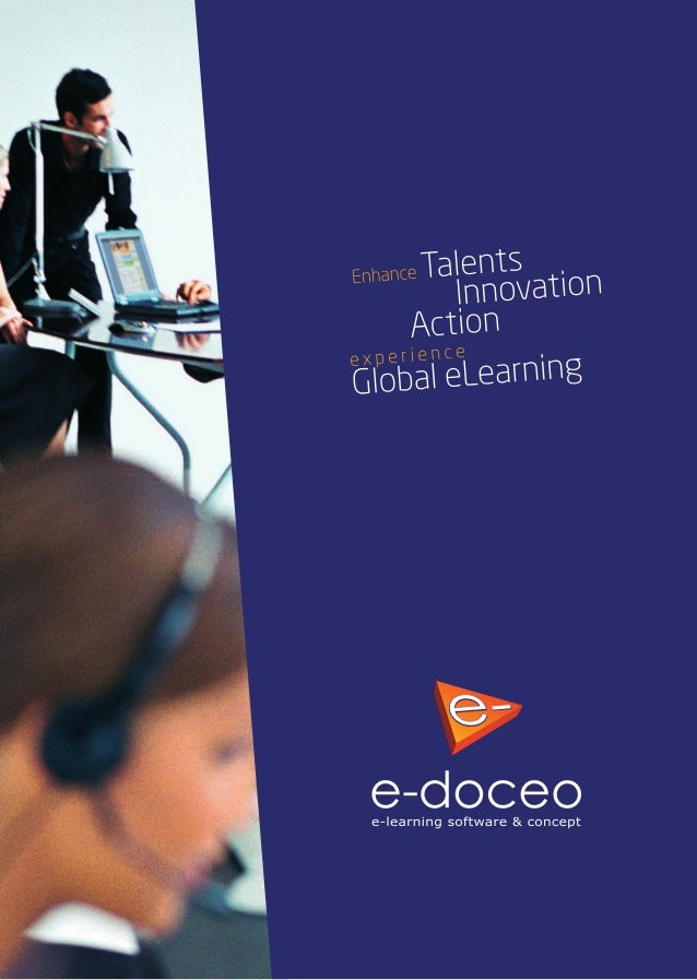 "e-doceo  e-Iearning software & concept  ¿""LWP 2.;  ..  4;. .- A'Á: BÏ7JQA _"