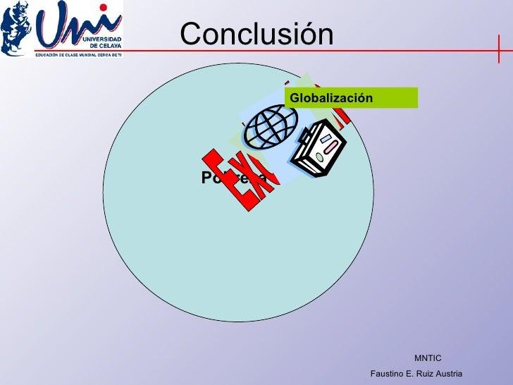 Conclusión Exclusión Pobreza Globalización