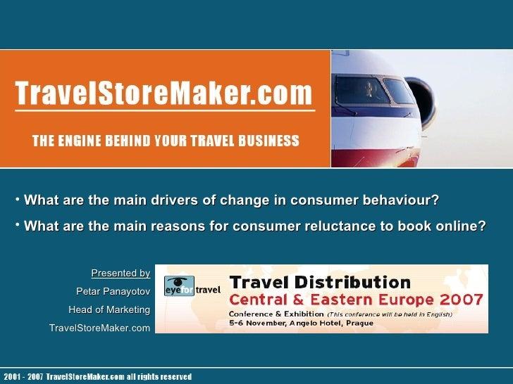 Name Title Company  <ul><li>What are the main drivers of change in consumer behaviour? </li></ul><ul><li>What are the main...