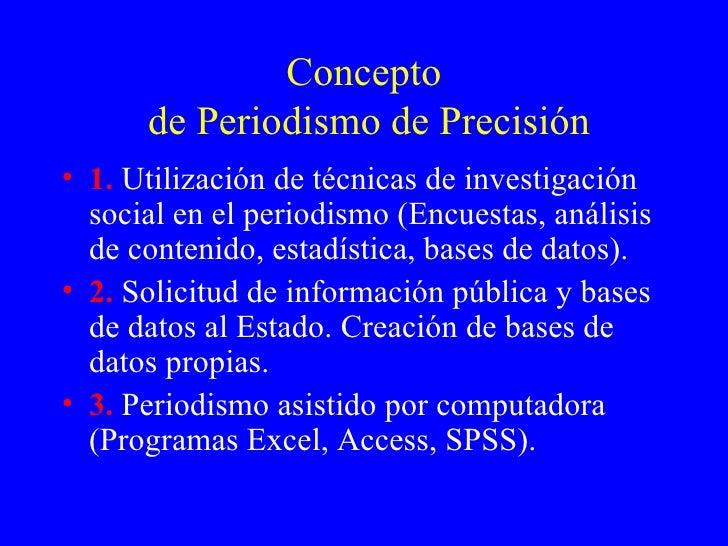 Precision Journalism Latinamerican.Tmp Slide 2