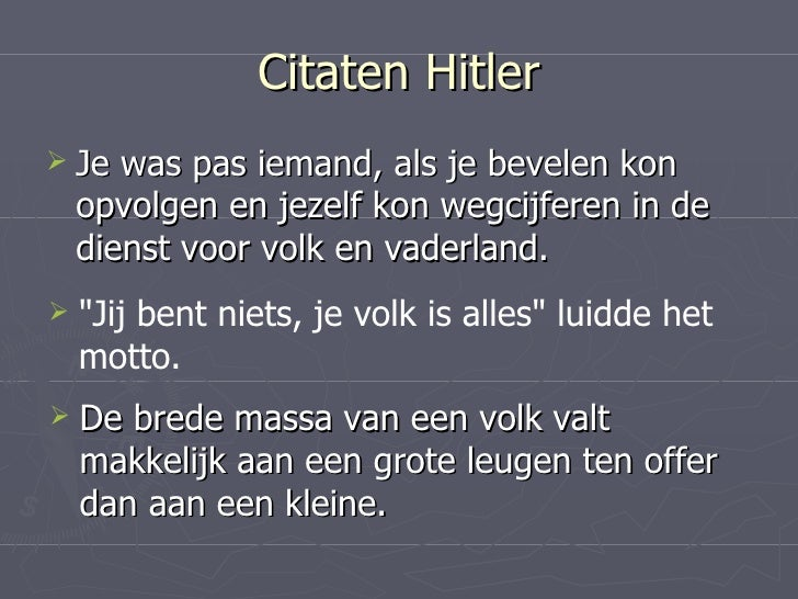 Citaten Hitler Xiaomi : Presentatie hitler