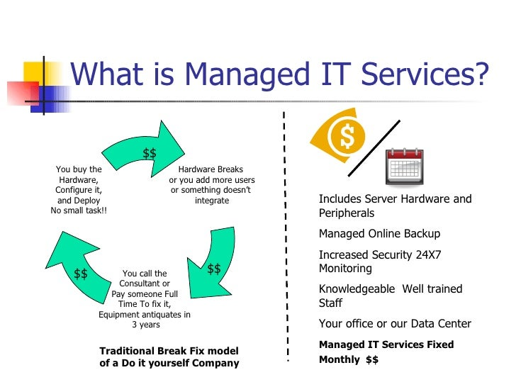 Good Overview Of The Benefits Of Managed It Services Vs
