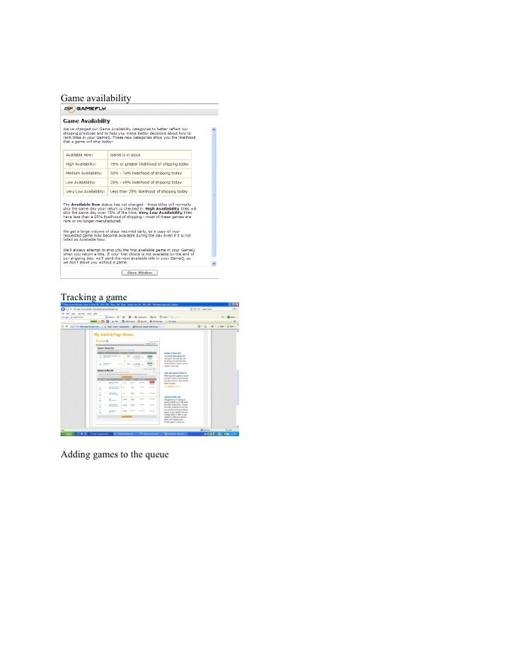 Project Charter Project Title: Video Game Delivery Project  Project Start Date: 31.01.09                     Projected Fin...