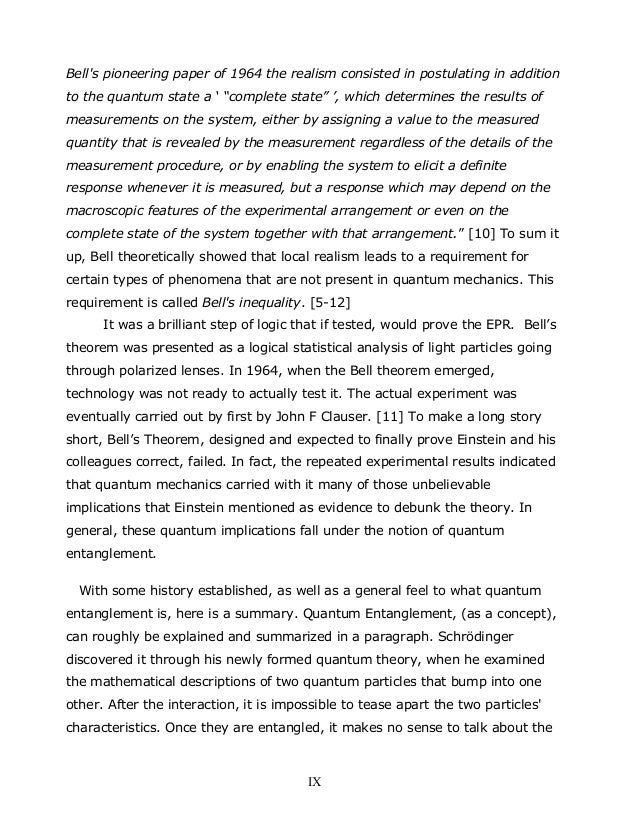 """Bell's pioneering paper of 1964 the realism consisted in postulating in addition to the quantum state a ' """"complete state""""..."""