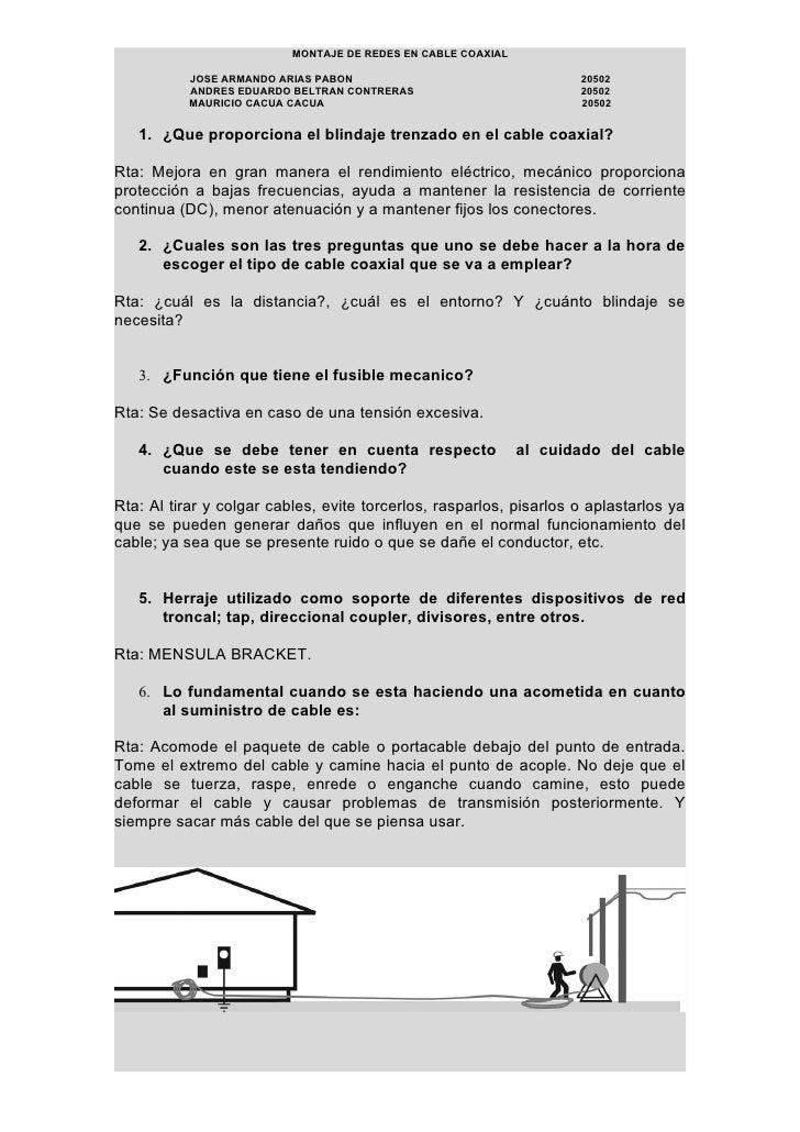 MONTAJE DE REDES EN CABLE COAXIAL             JOSE ARMANDO ARIAS PABON                                  20502            A...
