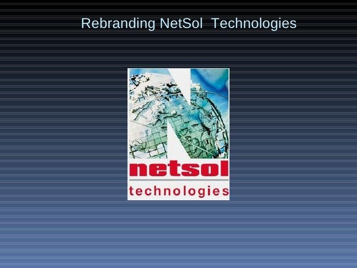 Rebranding NetSol  Technologies