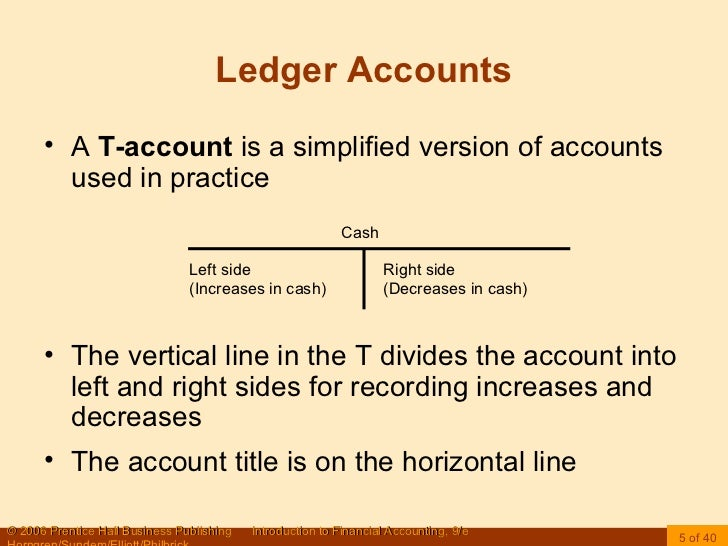 ledger t accounts example