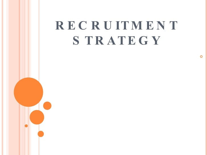 Recruiting Plan Template