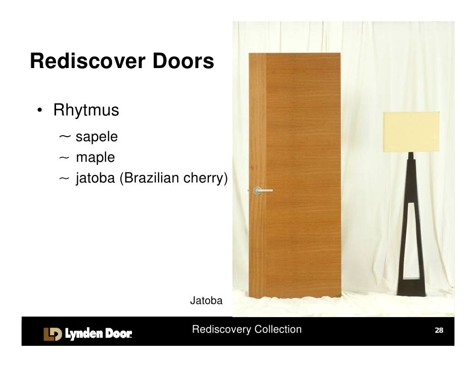 Rediscover Doors \u2022 Original StileLineTM ~ sapele ~ maple Sapele Rediscovery Collection 27; 28.  sc 1 st  SlideShare & Rediscover Doors 11.08