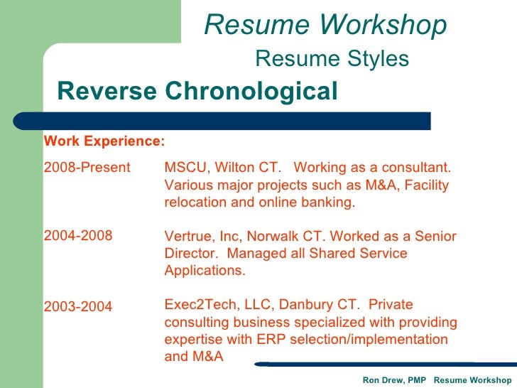 Stamford ct resume writing services