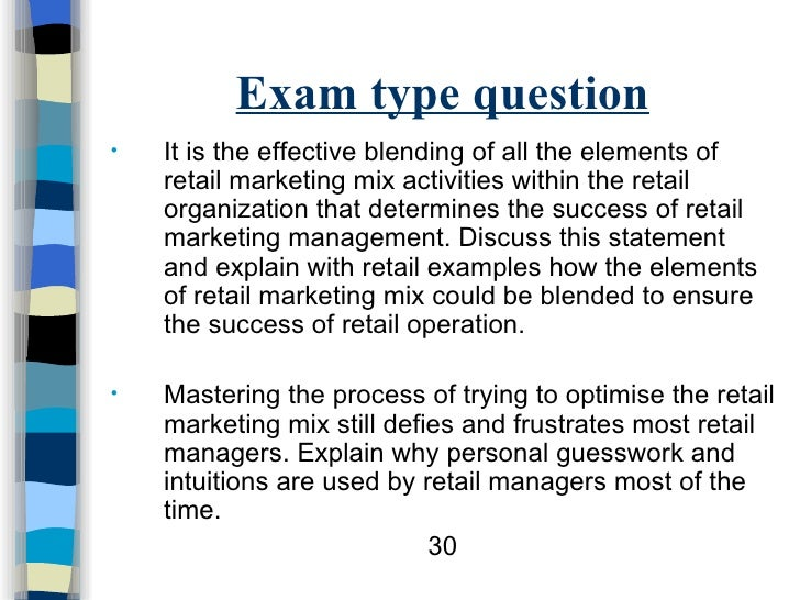 Exam Questions on Strategic Planning | Management