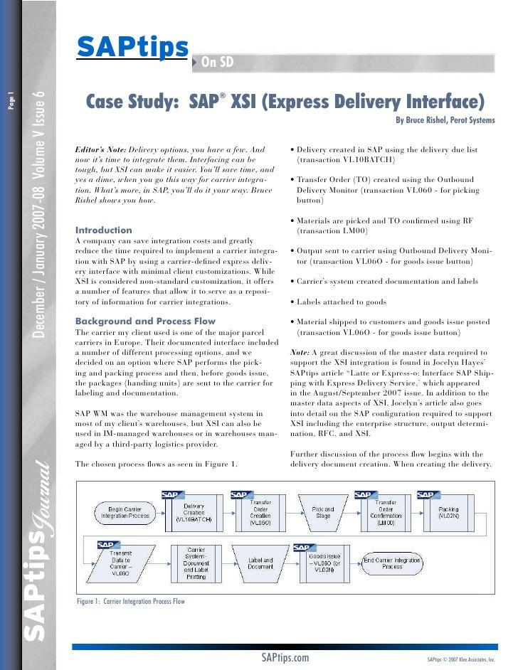 delivery in sap sd pdf