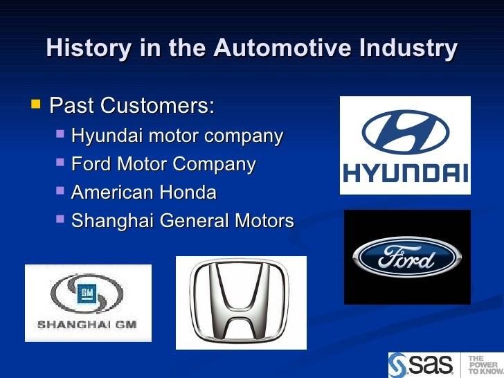 Sas Software Sales Pitch To Kia Motors