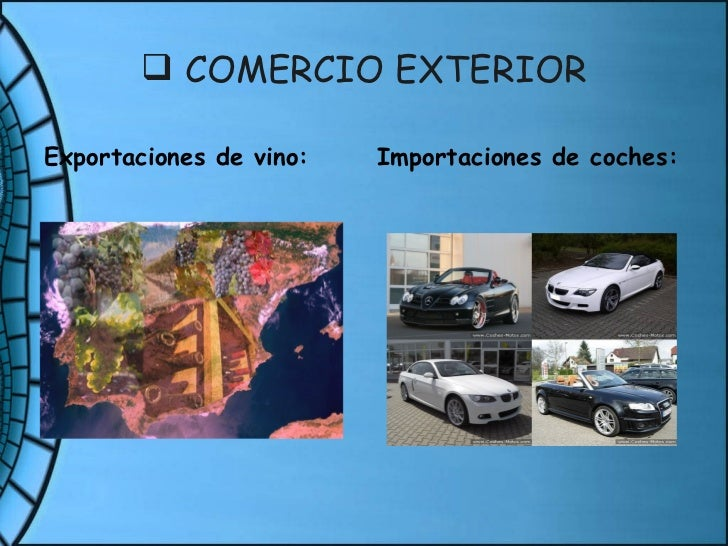 Sector terciario for Que es el comercio interior