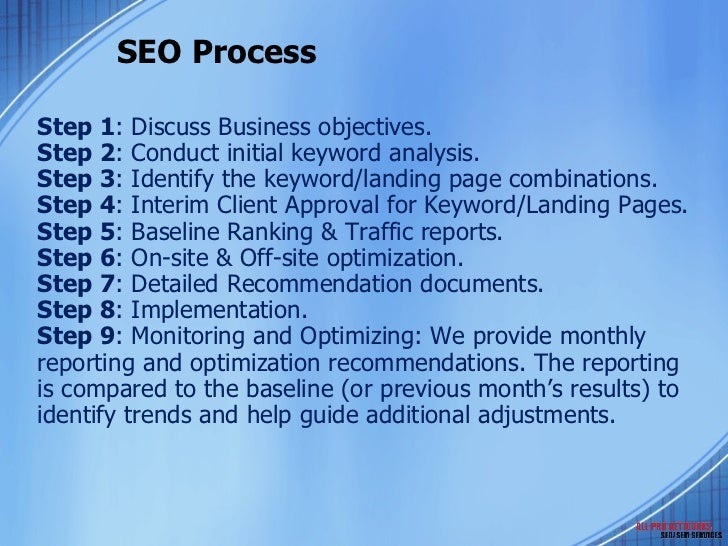 Seo Marketing Plan Ppt