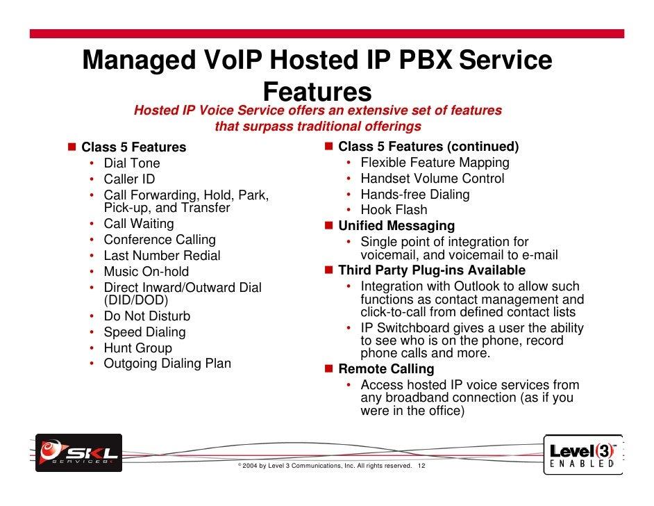 Skl VoIP Presentation
