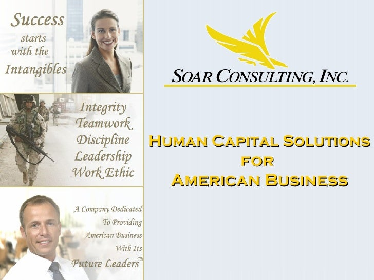 Human Capital Solutions for  American Business