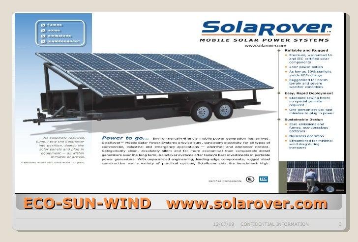 ECO-SUN-WIND Solar Power Presentation Slide 3